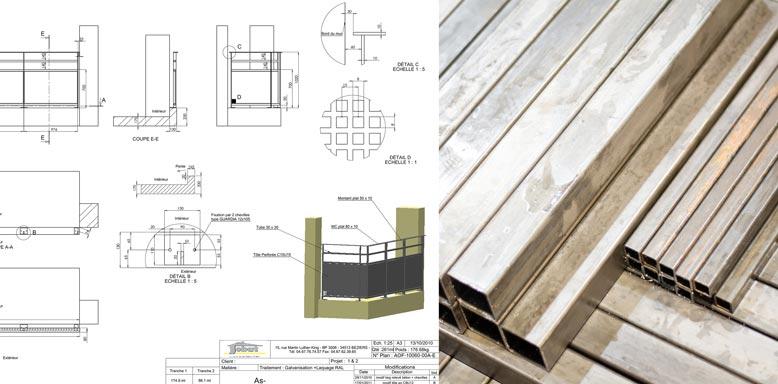 Conception, dimensionnement, étude et réalisation de plans defabrication. Des presses de 15 à 100 tonnes pour découper, former, emboutir et plier tous types depièces.